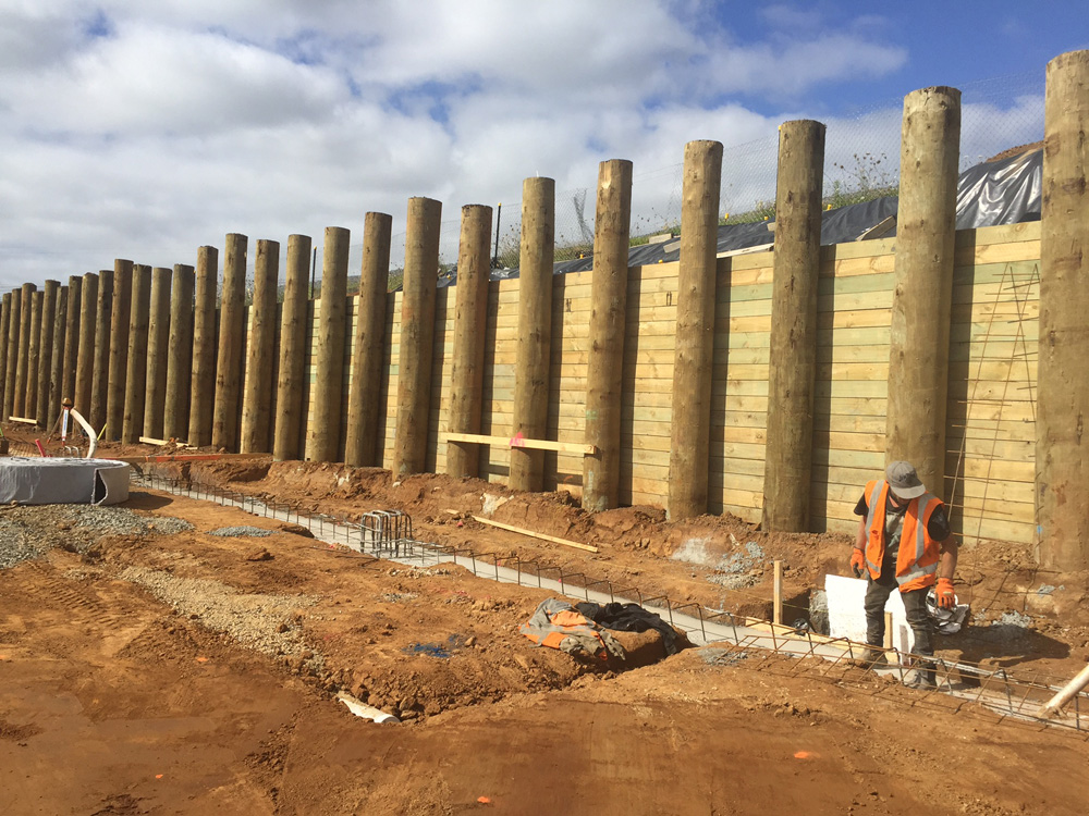 Retaining Wall Builders Auckland Ground Structures